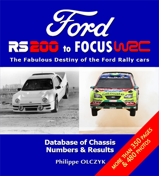 Ford RS 200 Book