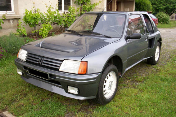 Peugeot 205 turbo 16 for sale
